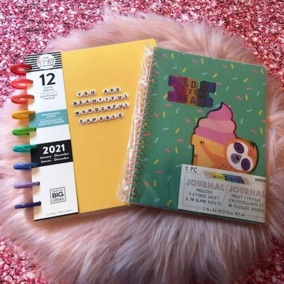 The 2021 Happy Planner and Journal